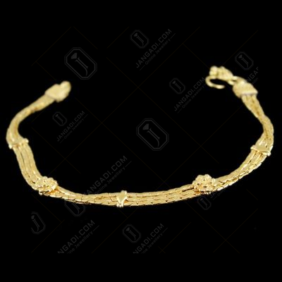 Gold Plated Casual Wear Anklets