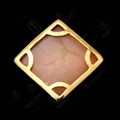 GOLD PLATED MONALISA STONE RING